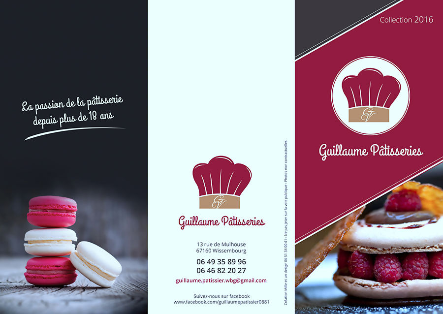 flyers patisserie